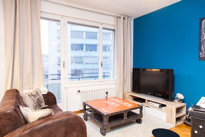 Trendy flat in town - Genf - Wohnung