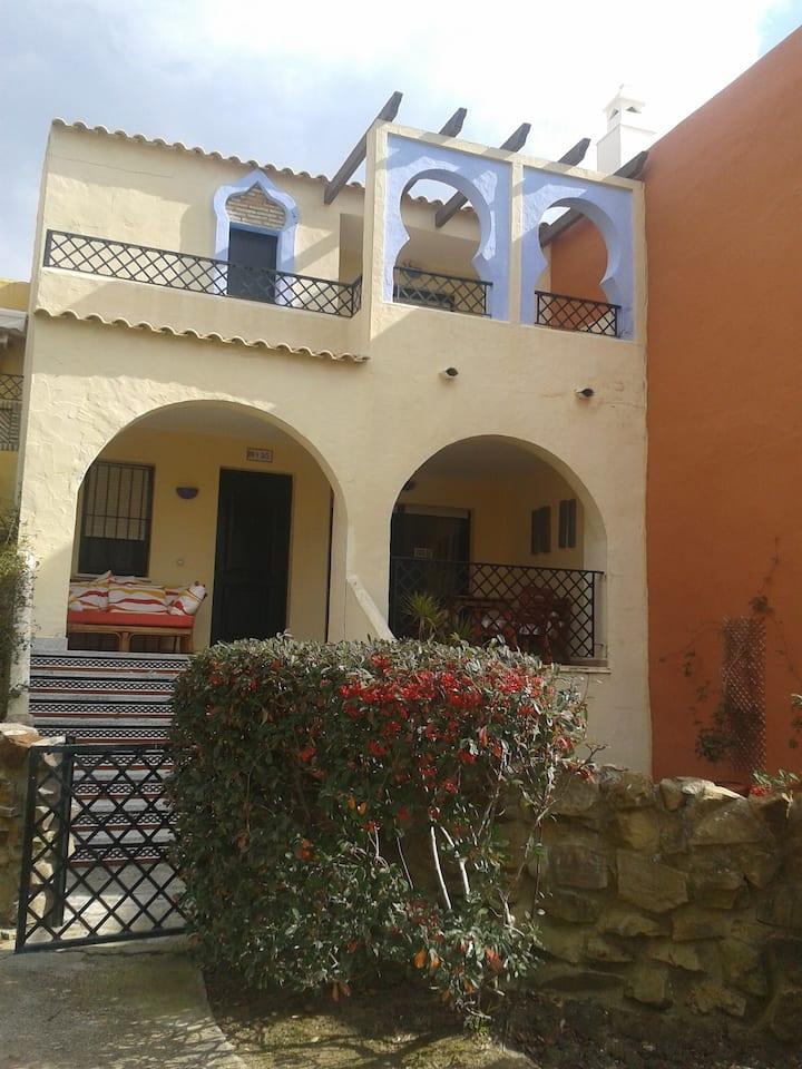 Casa de Zahara, by the sea.