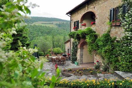Villa Le Miccine with Pool for 6 - Gaiole In Chianti - Villa