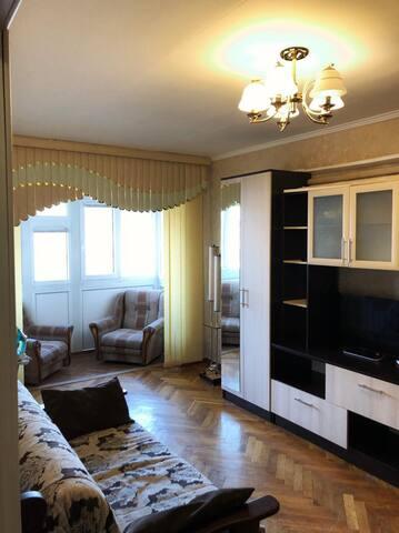 Однокомнатная квартира на Новороссийской