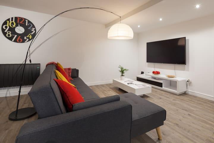 SUPERBE F3 WIFI & cosy - CENTRE Louviers - 70m²