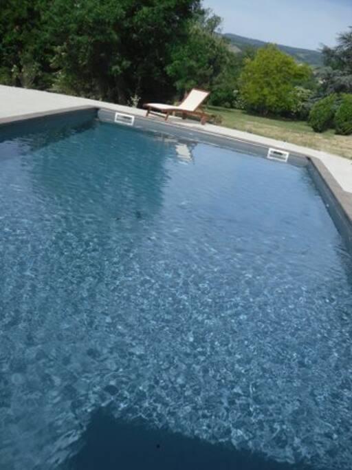 Demeure de charme piscine chauff maisons louer for Piscine 2 alpes
