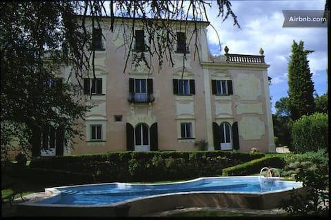 Idyllisch appartement in 18e eeuwse Toscaanse villa