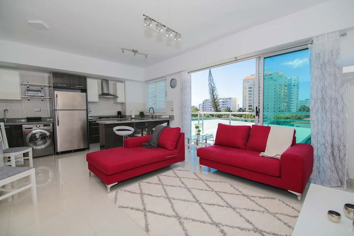 New, Modern & Cozy Luxury Condo in Santo Domingo - Saint-Domingue