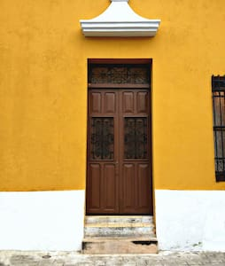 Historical Yellow House - Campeche