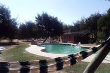 Gran piscina de arena
