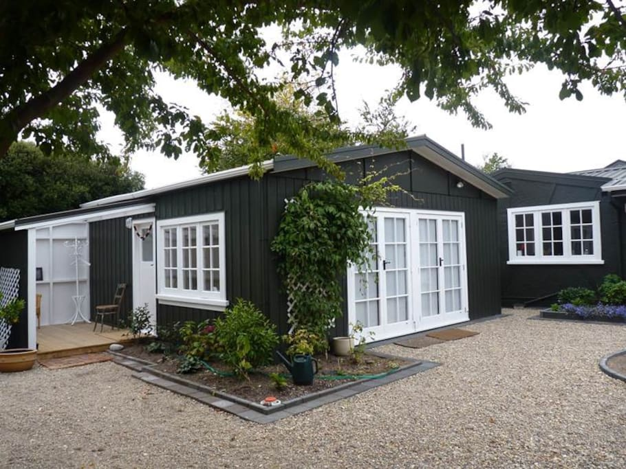 Plum Tree Studio is a newly renovated space, warm and inviting and separate from the main house