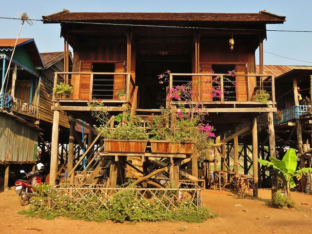 Floating Village Experience - Home Stay