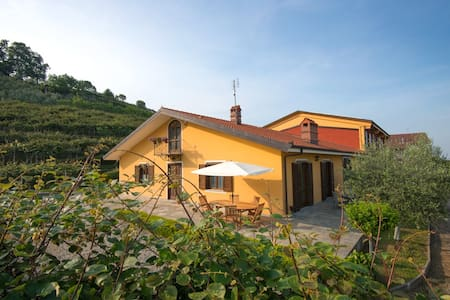 Casa Agrialpi: 3 camere, 3 bagni, cucina e living - Bricherasio - Bed & Breakfast