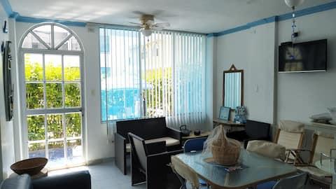 Cozy apartment near the sea Cabaplan - Tonsupa