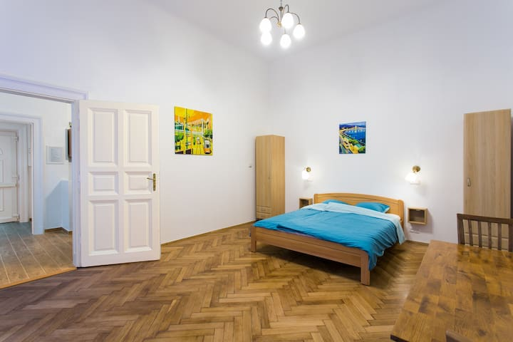 Spacious comfort for a couple