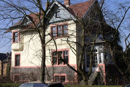 Wohnen in Auerbacher Jugendstilvilla - Bensheim - Huoneisto