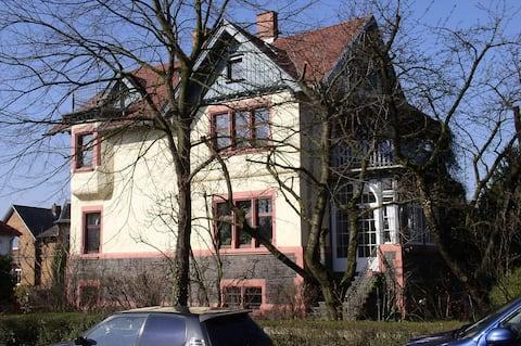 Wohnen in Auerbacher Jugendstilvilla