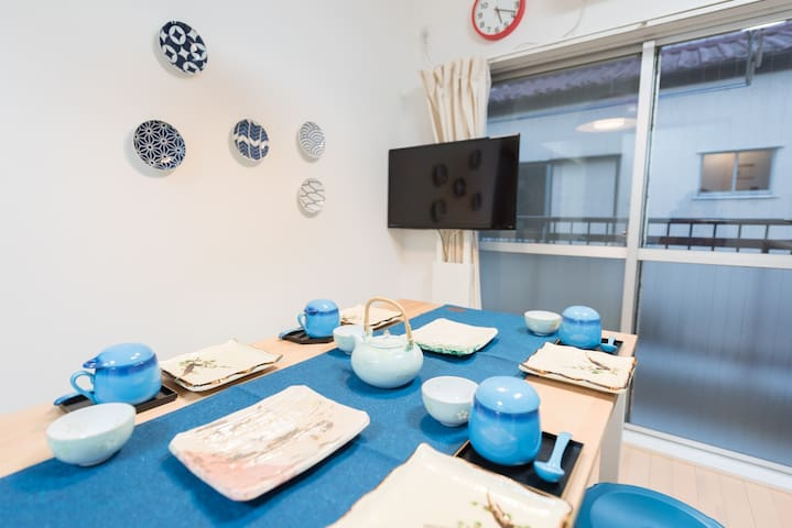 Colorful, cozy, and cool apt well located FE16 - Tokyo - Apartmen