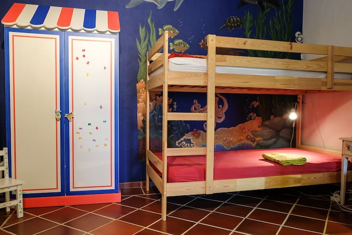Monte d' Água - Children's room.