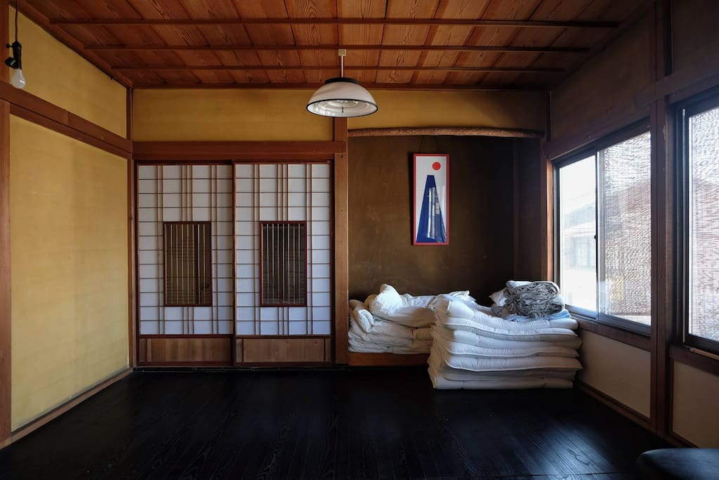 Traditional japanese room 4 people bed and breakfasts for Bed and breakfast tokyo