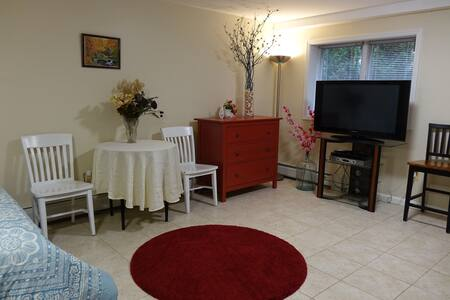 ★ Cozy and Private Studio Haven for 2 w/ Parking ★ - 팰리세이즈파크(Palisades Park)