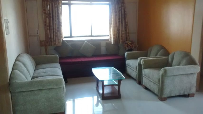 NRI Complex Palm Beach Navi Mumbai Furnished 3BHK