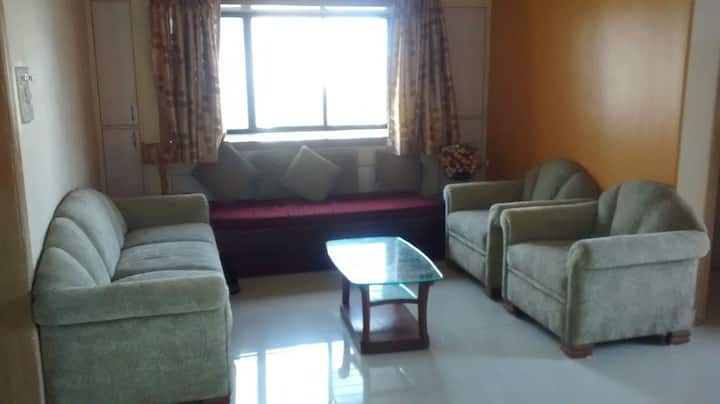 NRI Complex Palm Beach Navi Mumbai Furnished 3BHK