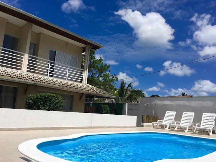 Vila Tiare 6 • 1 dorm • Casa nova e confortável em Maresias