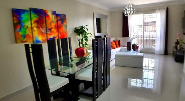 Magnifico apartamento en sector exclusivo