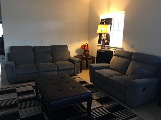 Lounge around in the common area