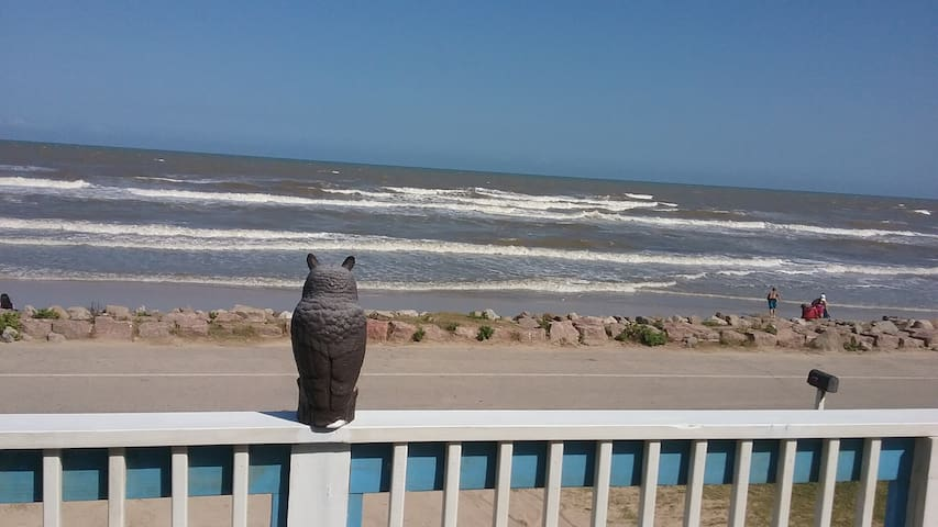 Happy Destiny is beach front in Surfside Beach, TX
