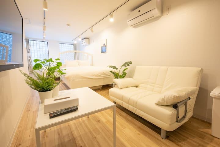"Ueno 10 min JR Yamanote ""Komagome Cozy room"" 1F"