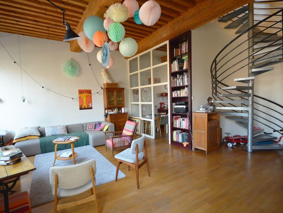 appartement familial croix rousse appartements louer lyon rh ne alpes france. Black Bedroom Furniture Sets. Home Design Ideas