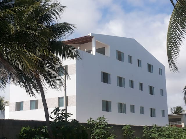 Ap. mit 3 Schlafzimmer am Meer - Paulista - Byt