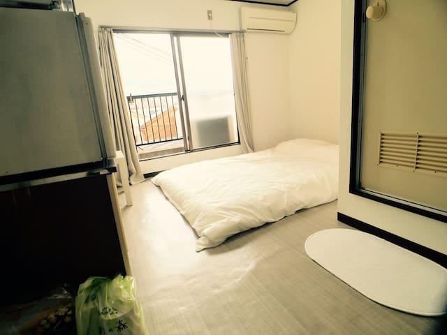Tennoji ST 11min! 3min walk fr Komagawa nakano ST - Ōsaka-shi - Apartament