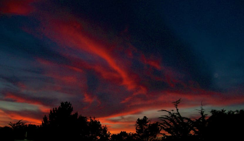 …and brilliant sunsets!