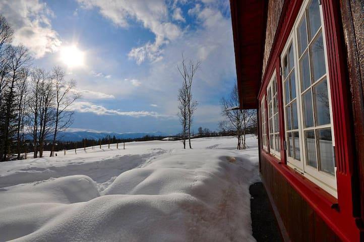 Stor hytte med fantastisk utsikt - Beitostølen - Hytte