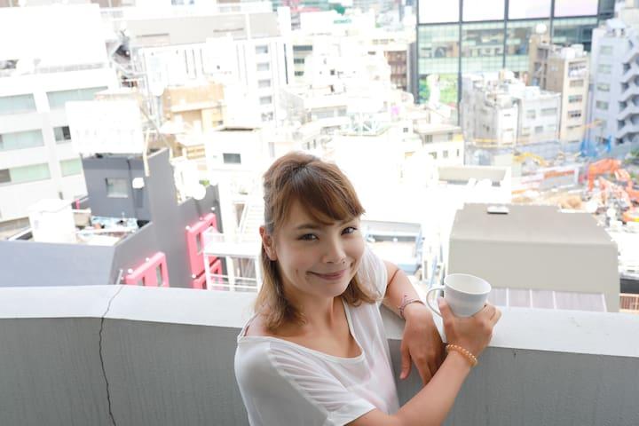 [IBASHO]5mins from Shibuya sta/Elevator/Wi-fi 312