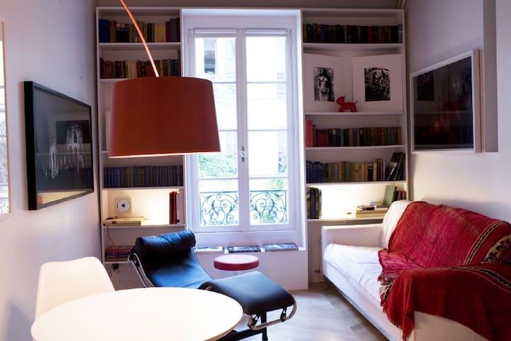 Elegant, silent apartment.