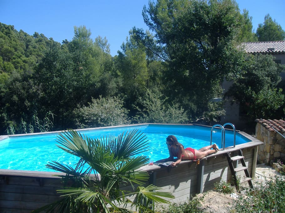 Provençale home with pool