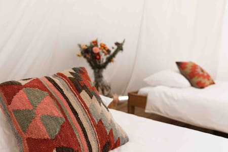 Stylish Glamping Tepee for Couples or Friends