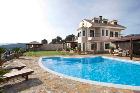 Villa Blue View - 5 bedroom villa - Agios Nikolaos - บ้าน