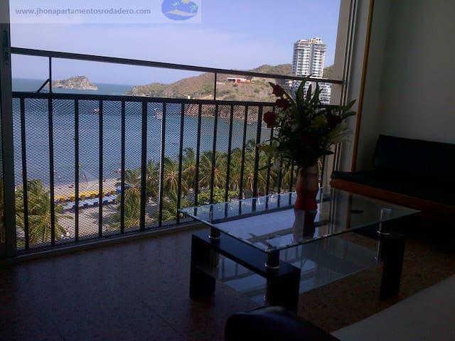 ARRIENDO APARTAMENTO EN RODADERO 10 - Santa Marta - Lägenhet