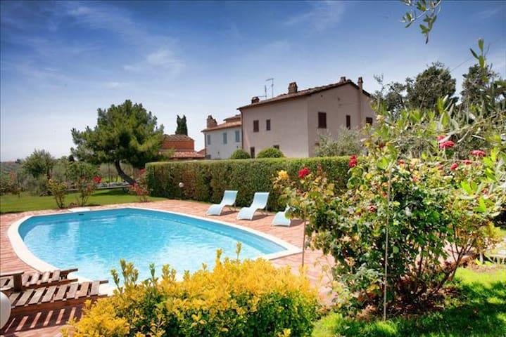 Villa Torricella Tuscany swimming  - Monte San Savino - Villa