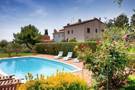 Villa Torricella Tuscany swimming  - Monte San Savino - Vila