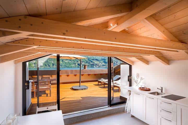 NUMERO 6 - A house with a view - Lake Como, Italy.