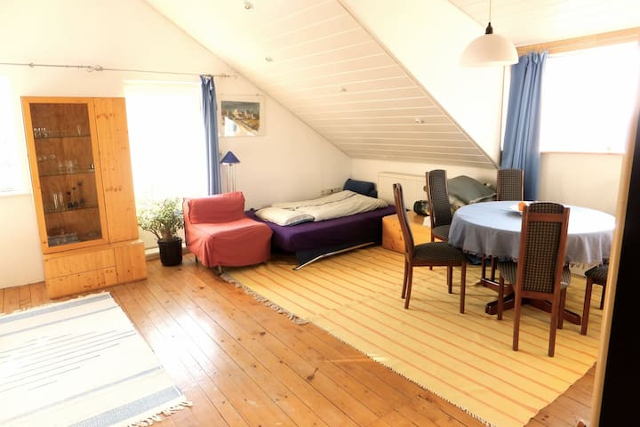 Großzügige Dachgeschoss-Wohnung  - Leibertingen - Apartament
