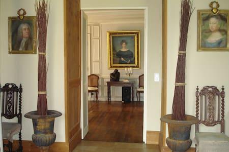 Chambre Grise -Manoir Saint Victor  - Ingrandes