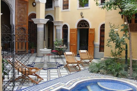 Double Bed Room In Riad With Pool & Free Parking