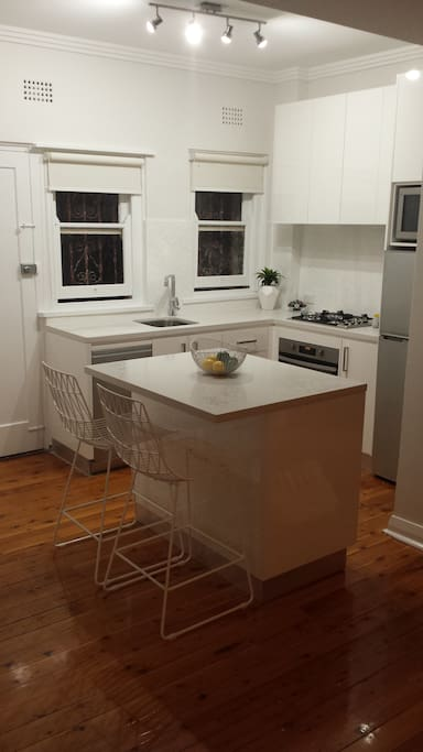 Brand new fully equipped kitchen, including dishwasher