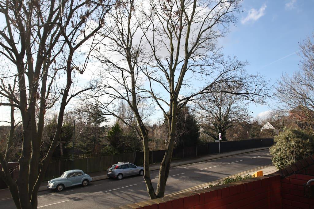 vue de la terrace