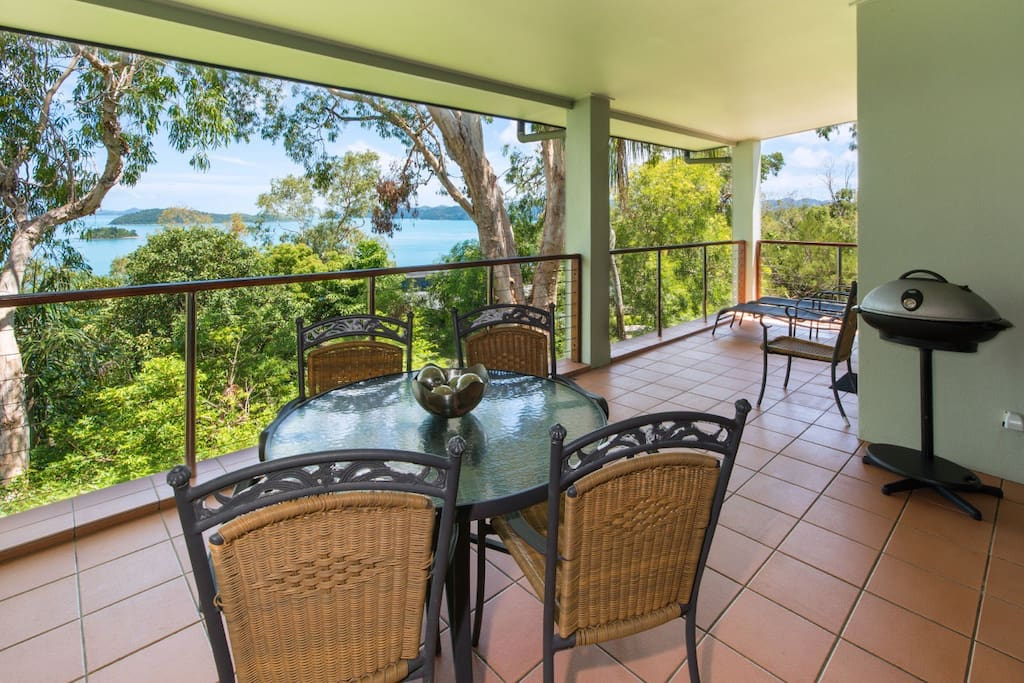 Very large balcony with BBQ for your relaxing and entertaining.