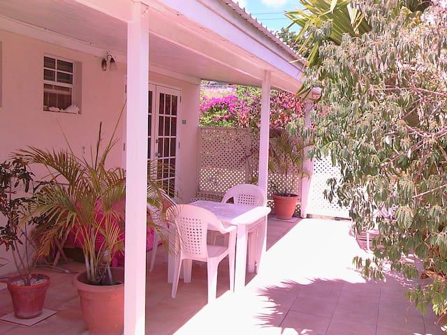 patio apartment 1