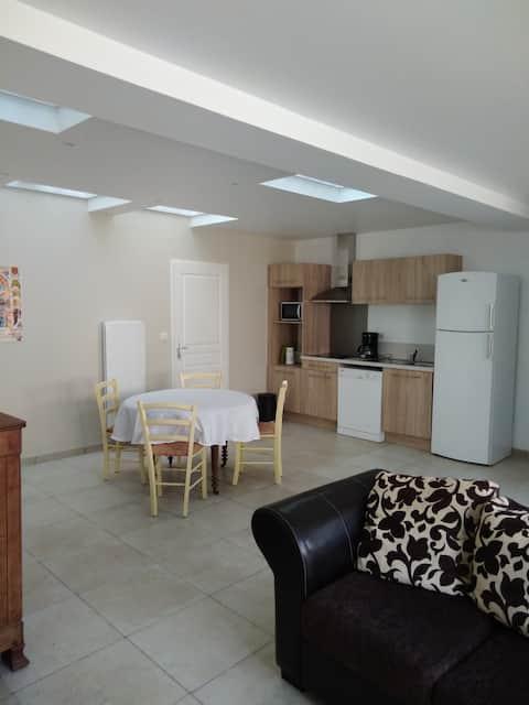 Bel appartement au centre de Cognac